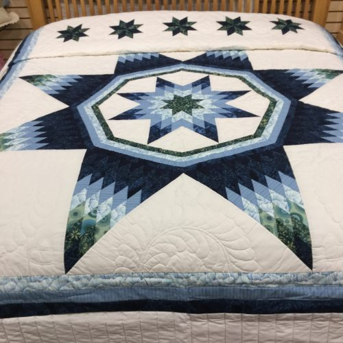 Maryland Star Quilt-King-Family Farm Handcrafts