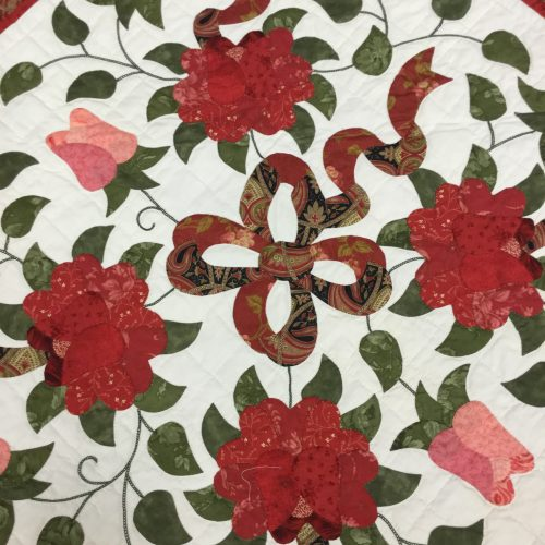 Boston Celtic Rose Quilt-Queen-Family Farm Handcrafts