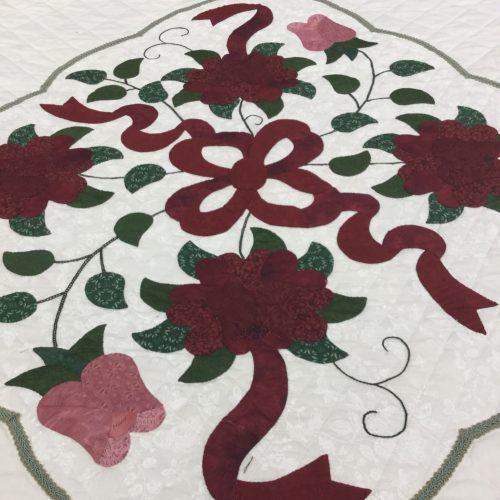 Celtic Rose Quilt-King-Family Farm Handcrafts