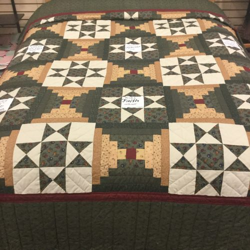Ohio Star Quilt-Queen-Family Farm Handcrafts