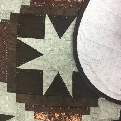 Eight-Point Star Quilt-Queen-Family Farm Handcrafts