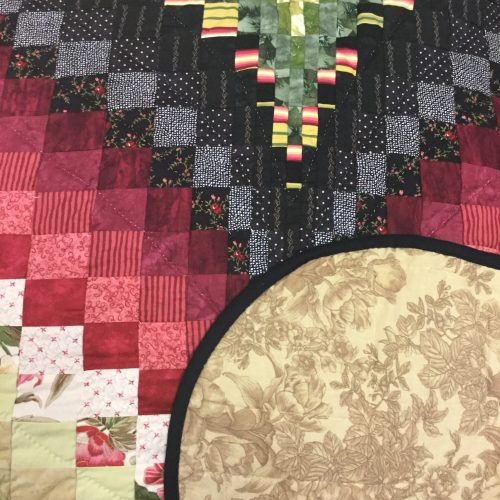 Bargello Flame Quilt-Queen-Family Farm Handcrafts