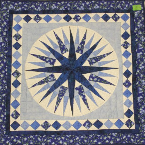 Amish Wall Hanging - Mariner's Compass Quilt - Family Farm Quilts