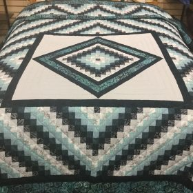 Diamond Trip Quilt-Queen-Family Farm Handcrafts