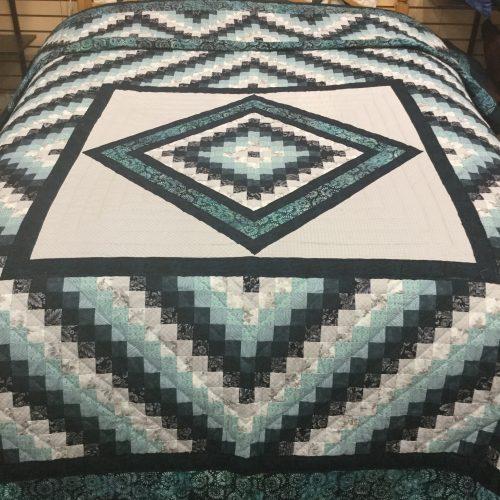 Diamond Trip Quilt-Queen-Family Farm Handcrafts