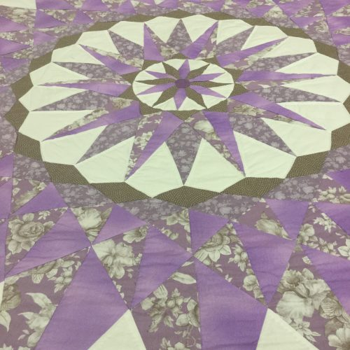 Sailor's Compass Quilt-Queen-Family Farm Handcrafts
