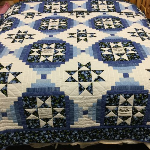 Ohio Star Quilt-King-Family Farm Handcrafts