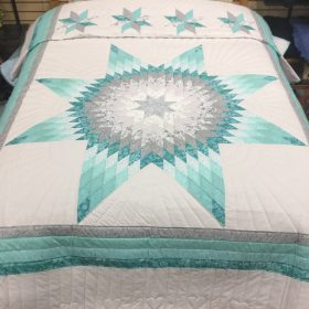 Lone Star Quilt-Queen-Family Farm Handcrafts