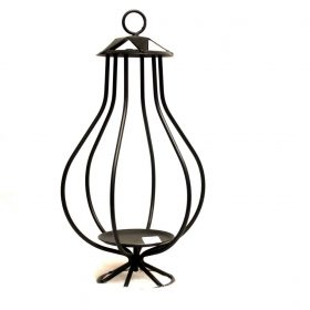 Candle Lantern | Iron candle holder