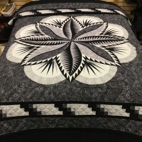 Fire Island Hosta Quilt-Queen-Family Farm Handcrafts
