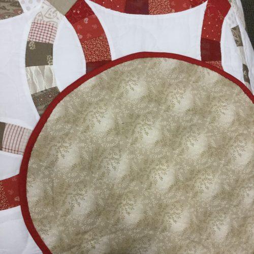 Wedding Ring Quilt-Queen-Family Farm Handcrafts