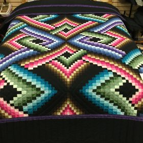 Mystic Night Quilt-Queen-Family Farm Handcrafts