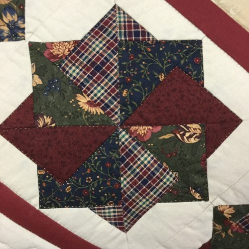 Spin Star Quilt - Queen - Family Farm Handcrafts