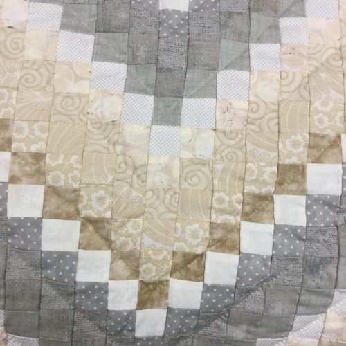 Postage Stamp Quilt - King - Family Farm Handcrafts