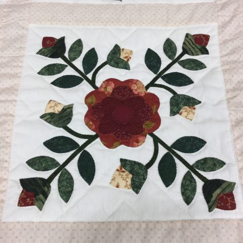 Sampler Applique Quilt - Queen - Family Farm Handcrafts