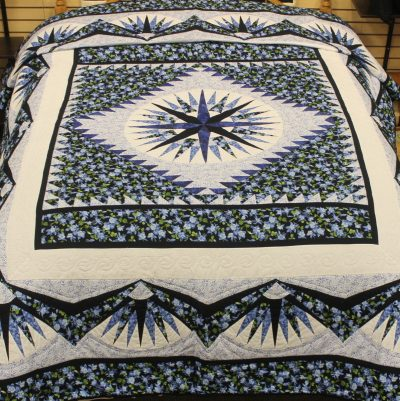 mariners compas amish quilt pattern design style