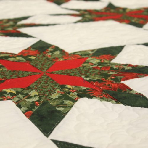 Christmas Colonial Star Quilt - King 1