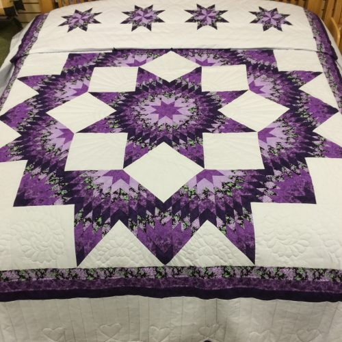 Broken Star Quilt - King - Family Farm Handcrafts