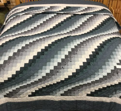 Surf Song Quilt - King - Family Farm Handcrafts