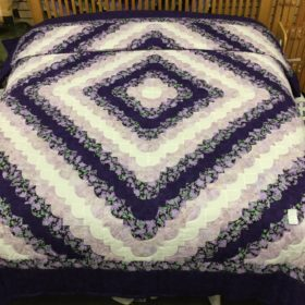 Ocean Wave Quilt - King - Family Farm Handcrafts