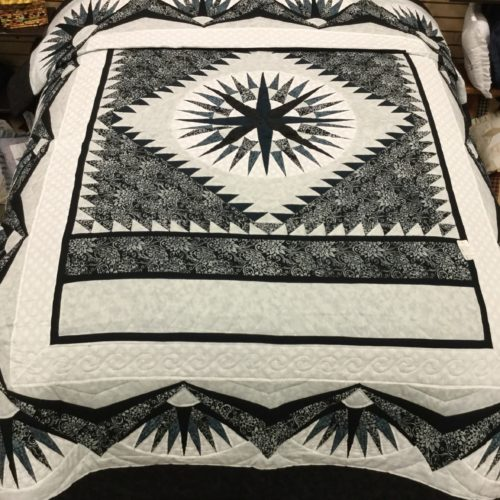 Mariner's Compass Quilts - Family Farm Handcrafts