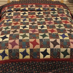 Amish Quilts Lancaster - Ancient Star Queen - Family Farm Quilts