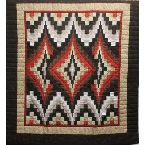 Throw Blankets - Argyle Throw Quilt - Family Farm Quilts