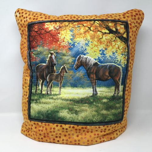 Horse Quillow - Family Farm Handcrafts