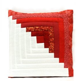 Log Cabin Quillows for Sale - Family Farm Quilts