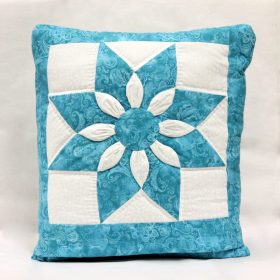 Pillow Blanket - Dahlia Quillow - Family Farm Quilts