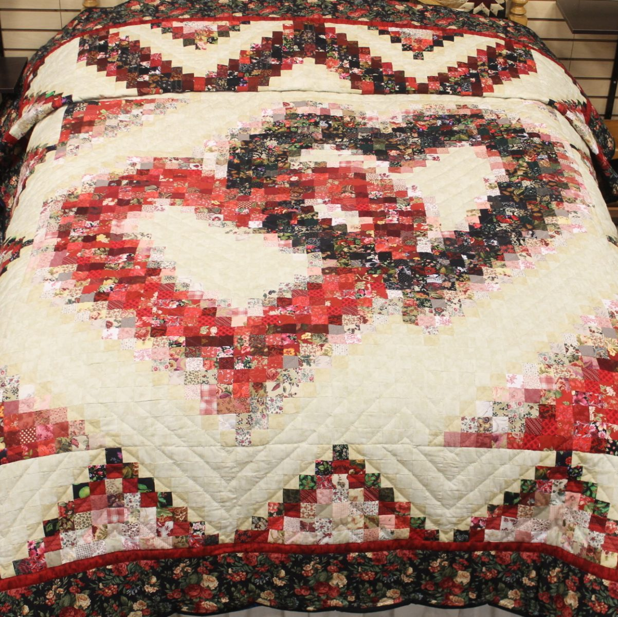 Linking Hearts Quilts Queen Linking Hearts Quilt Family Farm Quilts