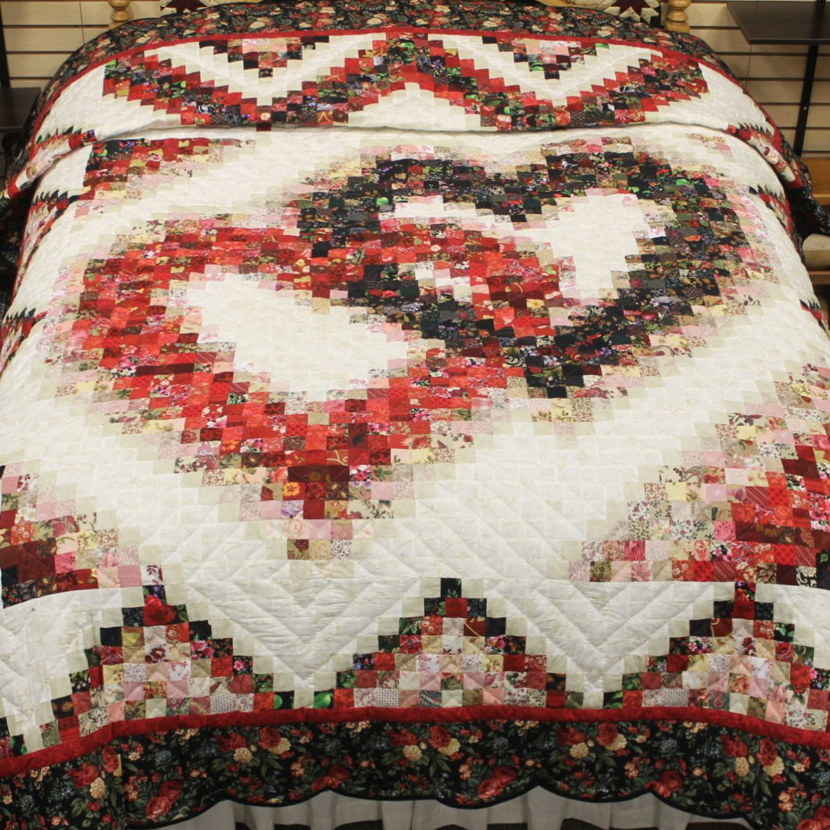 Beautiful Original Linking Hearts Quilts For Sale Family