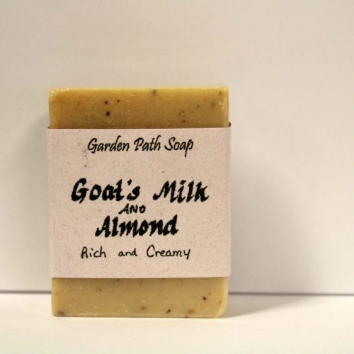 Goat's Milk & Almond - Homemade Lye Soap 1
