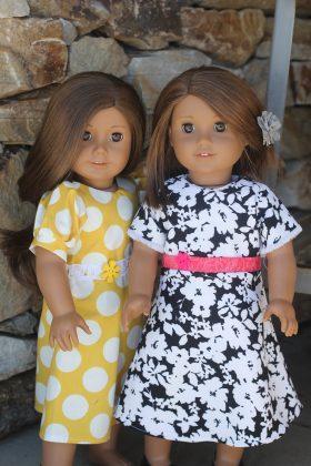 "18"" Doll Dress-Family Farm Handcrafts"