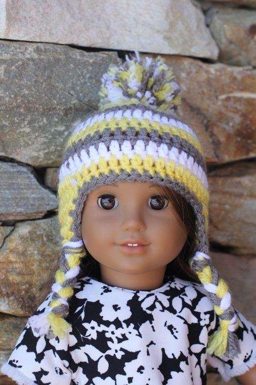 Crocheted Doll Hat-Family Farm Handcrafts