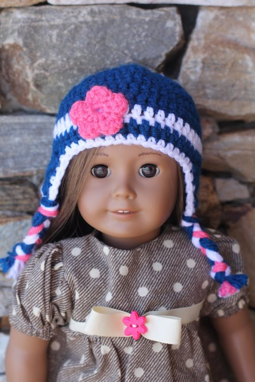 Crocheted Doll Hat-Family Farm Handcrafts