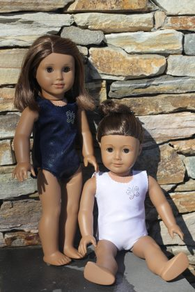 "18"" Doll Bathing Suit-Family Farm Handcrafts"