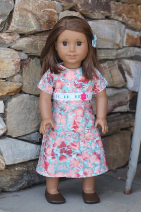 "18"" Doll Dress-Family Farm Handcrafts"