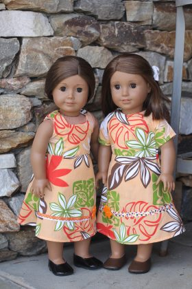 "18"" Doll Dress & Jumper-Family Farm Handcrafts"