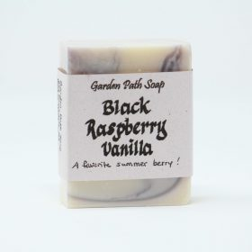 Black Raspberry Vanilla- Homemade Lye Soap-Family Farm Handcrafts