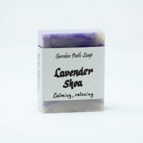 Lavender Shea- Homemade Lye Soaps- Family Farm Handcrafts