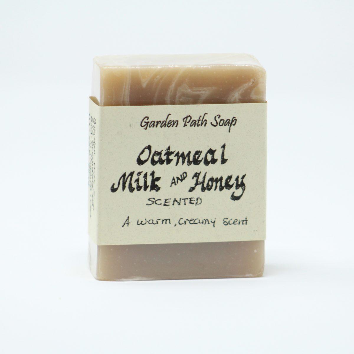 Oatmeal Milk and Honey-Homemade Lye Soaps-Family Farm Handcrafts