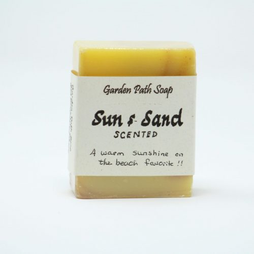 Sun & Sand- Homemade Lye Soaps- Family Farm Handcrafts