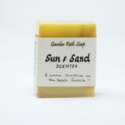 Sun & Sand- Homemade Lye Soaps- Family Farm Handcrafts