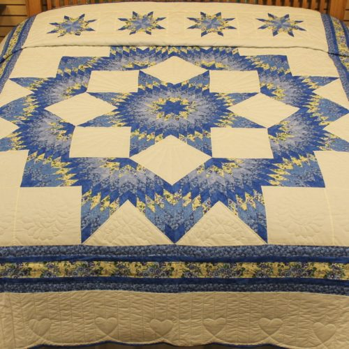 Homemade Quilts for Sale - Broken Star Quilt - Family Farm Quilts