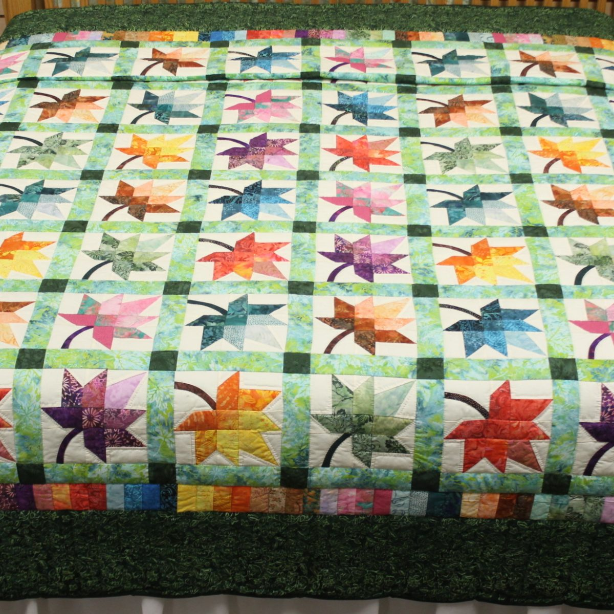 Quilts for sale amish made quilts autumn splendor king for Quilts for sale