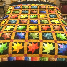 Autumn Splendor Quilt-Queen-Family Farm Handcrafts