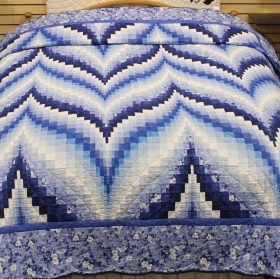 Bargello Flame Quilt - Family Farm Quilts