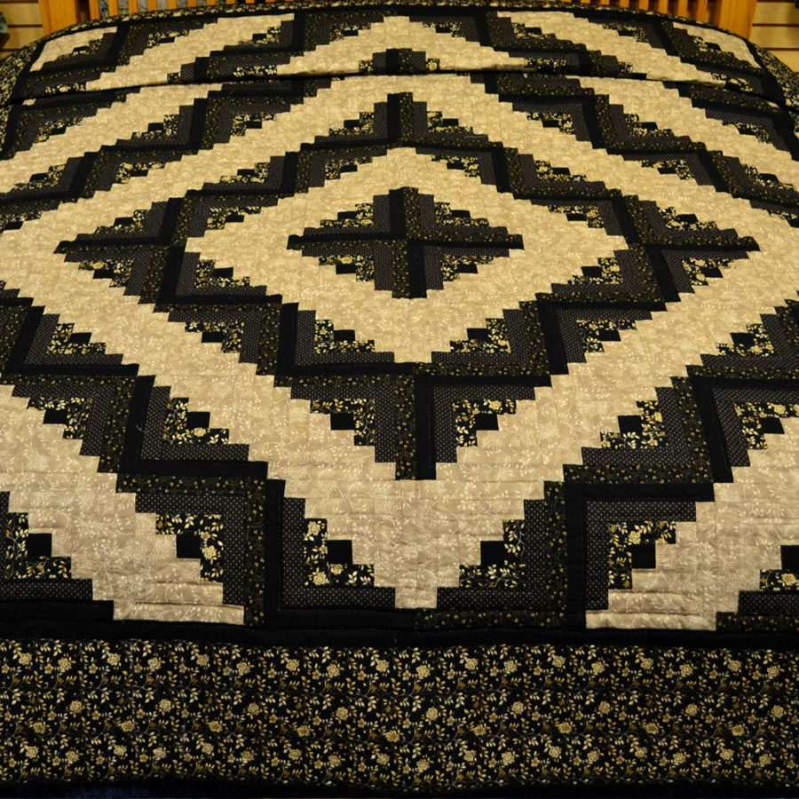 Log Cabin Quilts Queen Kansas Trouble Fabrics Family