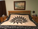 Fire Island Hosta Quilt - Queen 5